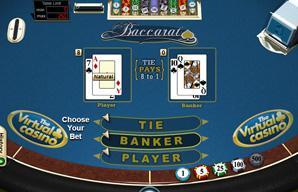 Virtual online casino gambling baccarat free flash casino games