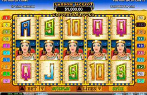 Play Cleopatra\'s Gold