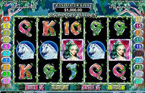 Enchanted garden game slot pret a la banque casino