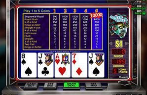 online free casino poker joker