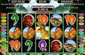 T-Rex Slots: Play Free T-Rex Slots at The Virtual Casino
